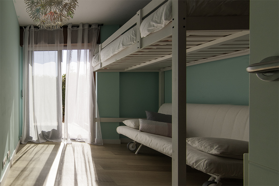 Dormitorio Azul Despues